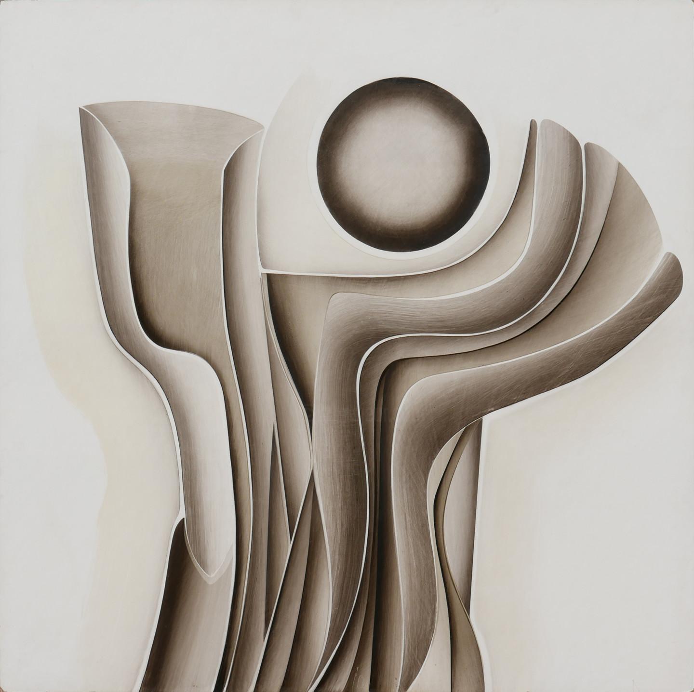 Guy Dessauges - composition noir blanc
